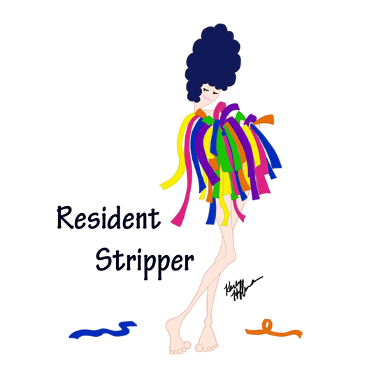 Sticky Note Resident Stripper