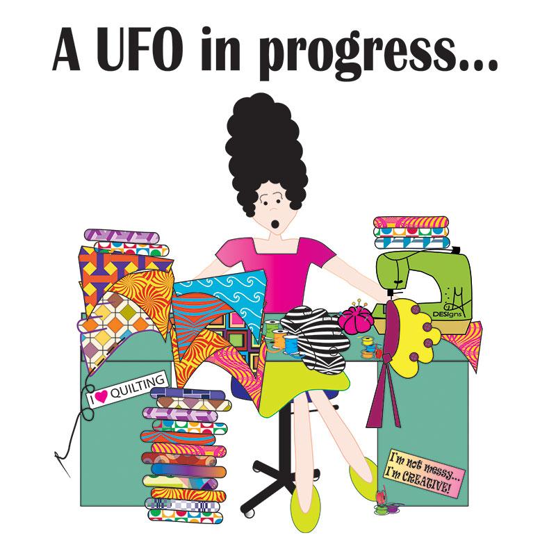 UFO In Process - Sticky Notepad - FF532