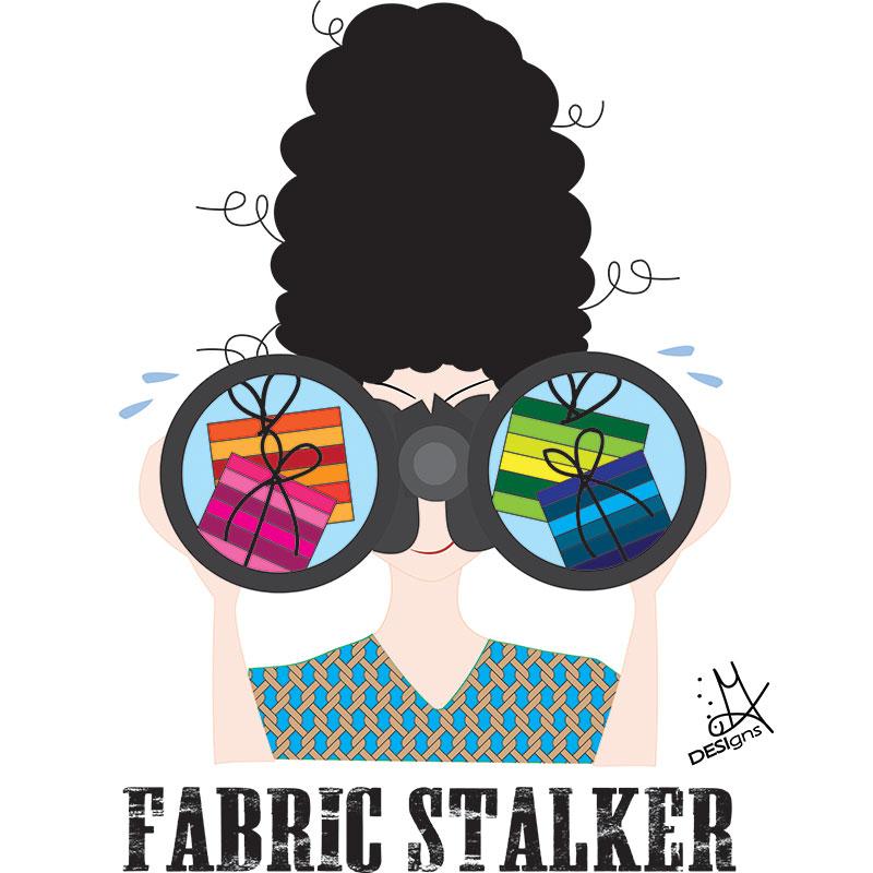 Sticky Note Fabric Stalker