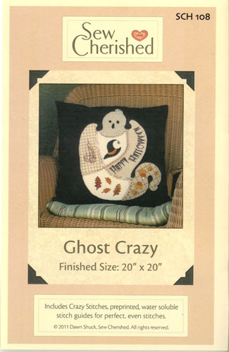 Ghost Crazy Pattern by Sew Cherished^ +
