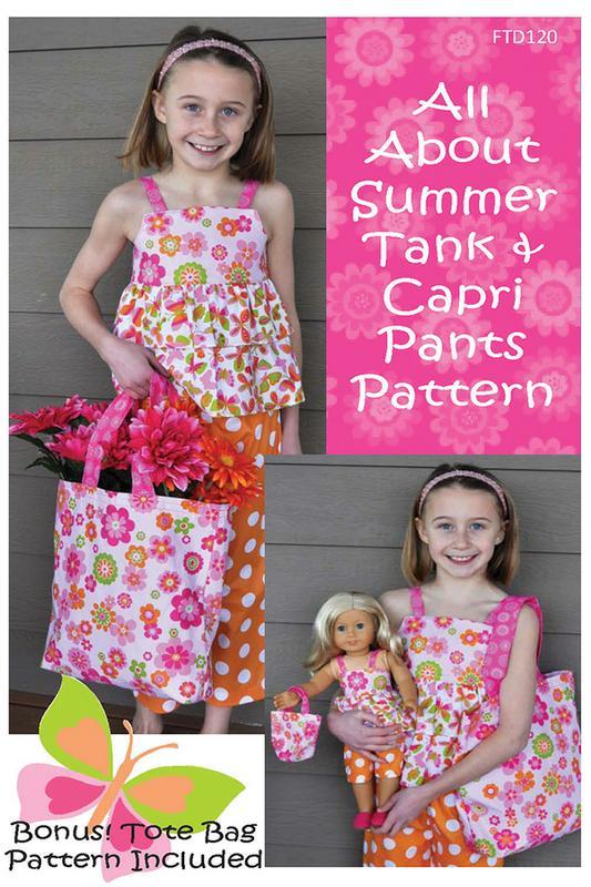 All About Summer Tanks & Capri Pants Pattern