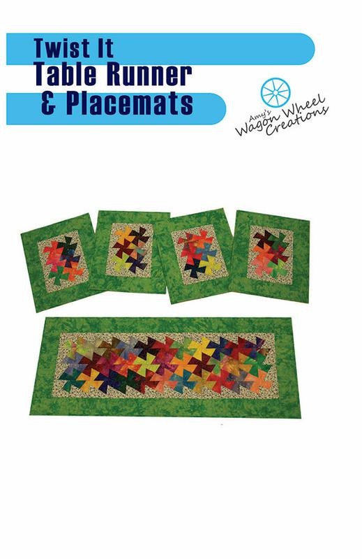 Twist It Table Runner Placemats
