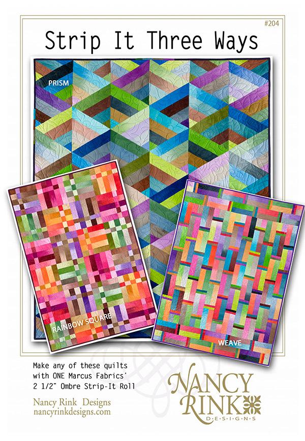 Strip It Three Ways</br>Nancy Rink Designs