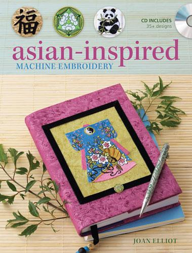 Asian Inspired Machine Embroidery