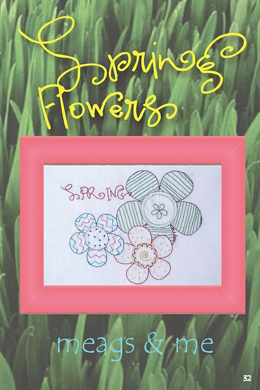 Spring Flowers Embroidery