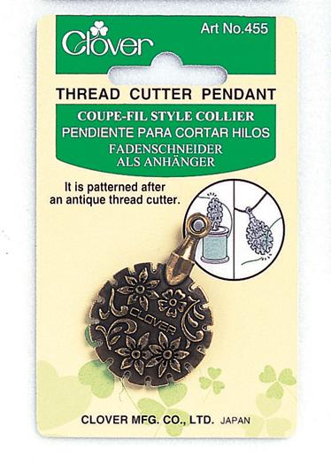 Clover Thread Cutter Pendant Gold 455