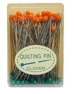 Clover Quilting Pins 6mmx 48mm