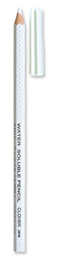 Clover Water Soluble Marking Pencil White 5000