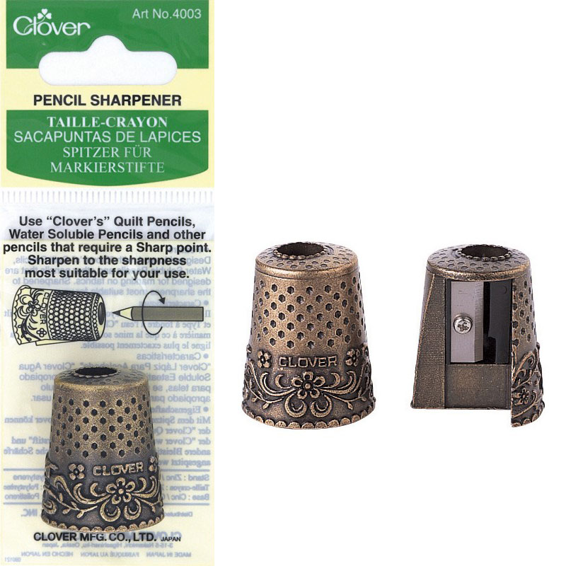 Clover Pencil Sharpener 4003