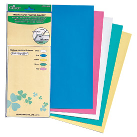 Clover Chacopy Tracing Paper - 12in x 10in - 5pc
