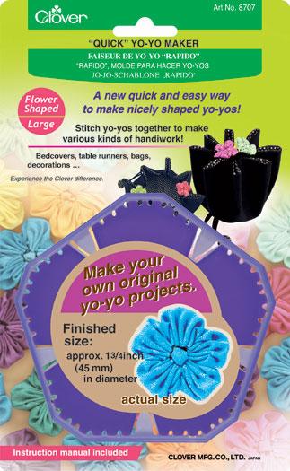 Clover Yo-Yo Maker Large Flower