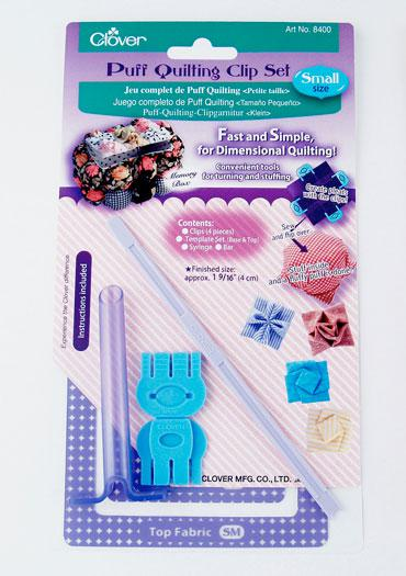 Puff Quilting Clip Set/Small - Clover - 8400