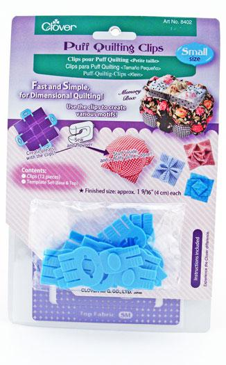 Puff Quilting Clips Small