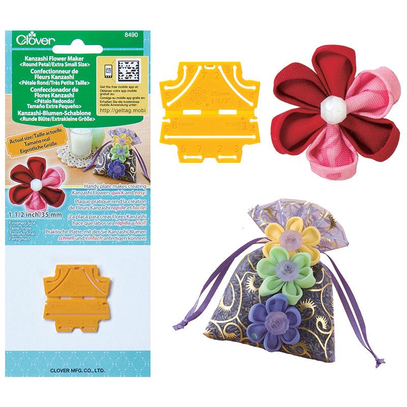 Kanzashi Flower Maker Round XSm