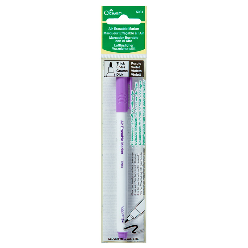 Air Erase Marker Thick Purple
