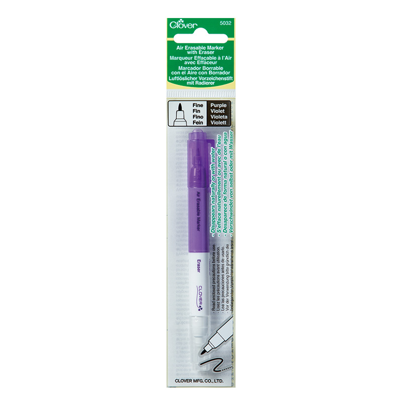 Air Erase Mark/Eraser Fine Purp