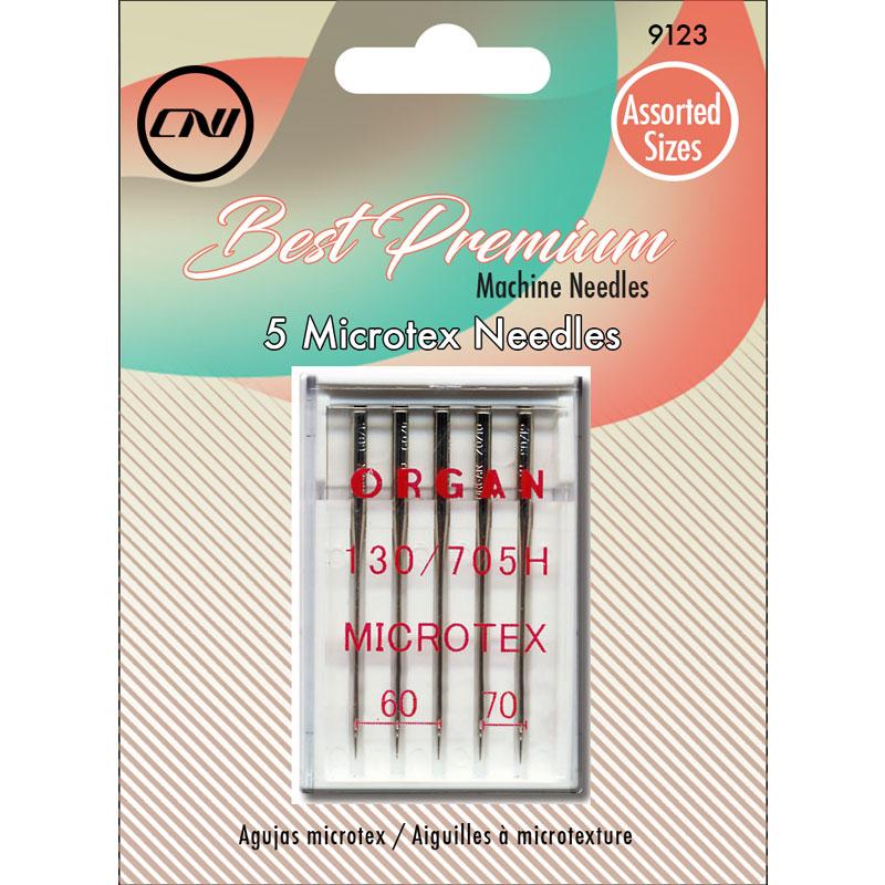Clover Microtex Machine Needles Asst 60/70