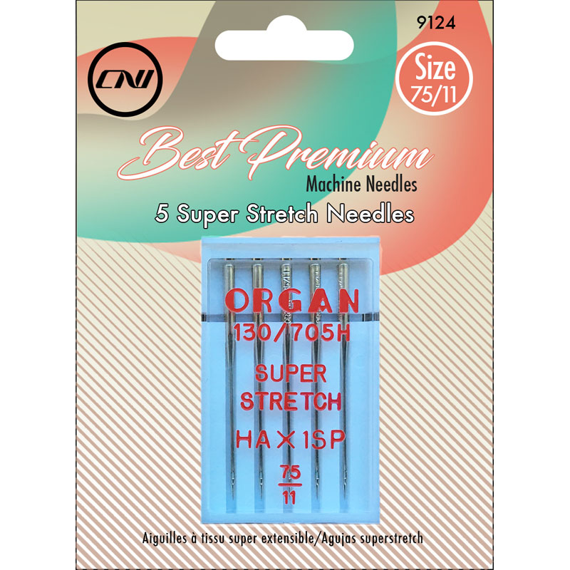 Clover Super Stretch Machine Needles 75/11