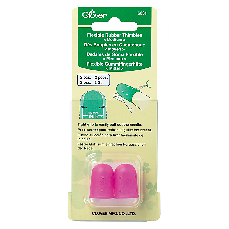 6031 Flexible Rubber Thimble Med