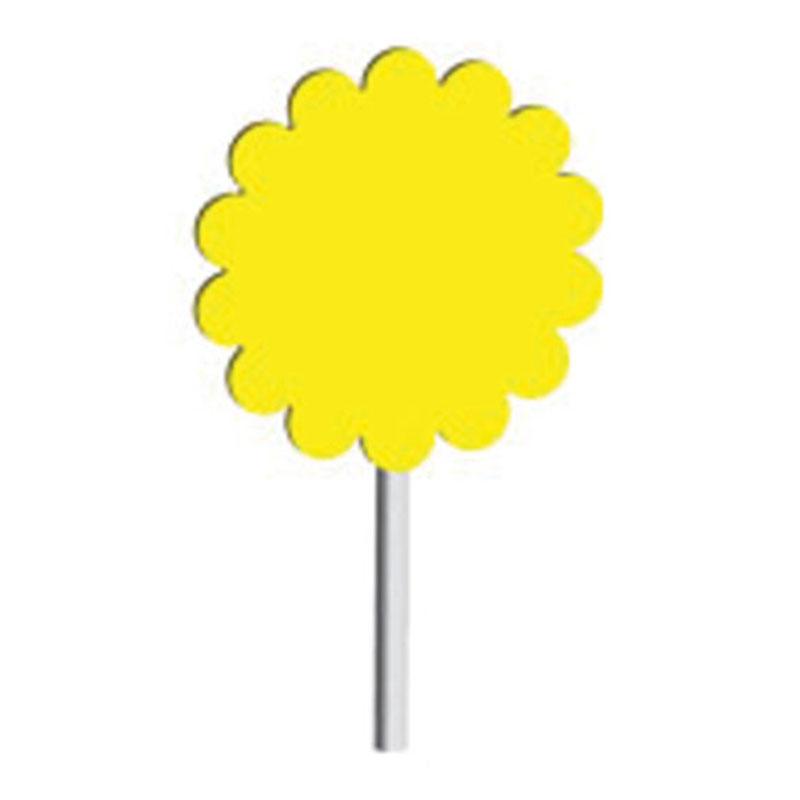 IBC Flat Flower Pins 1 7/8