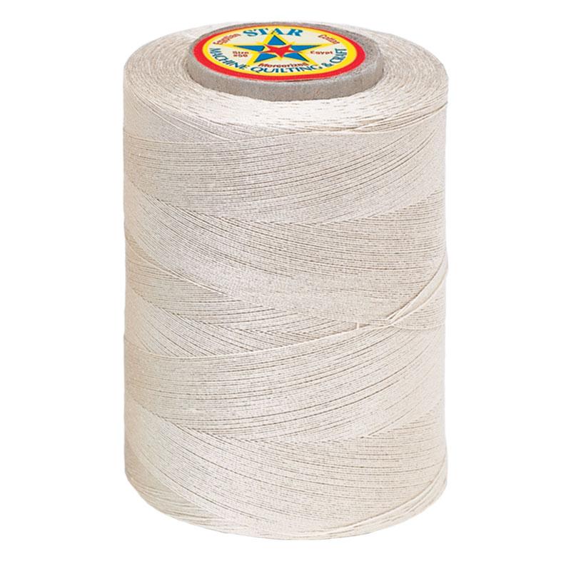 16 Star Cotton Thread 1200yd Ecru
