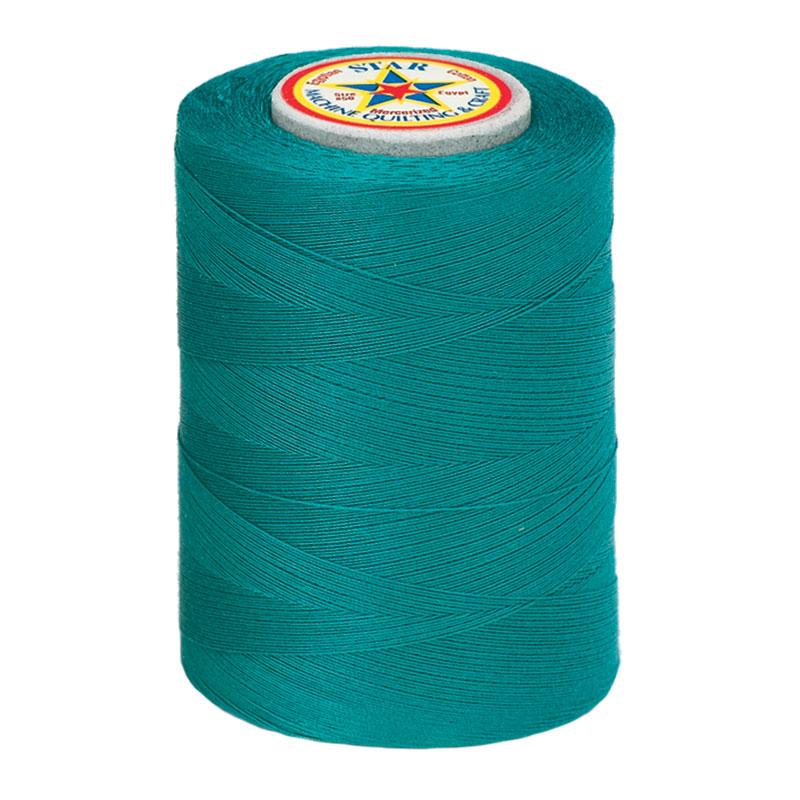 Star Mercerized Cotton Thread 1200yd #63A - Field Green