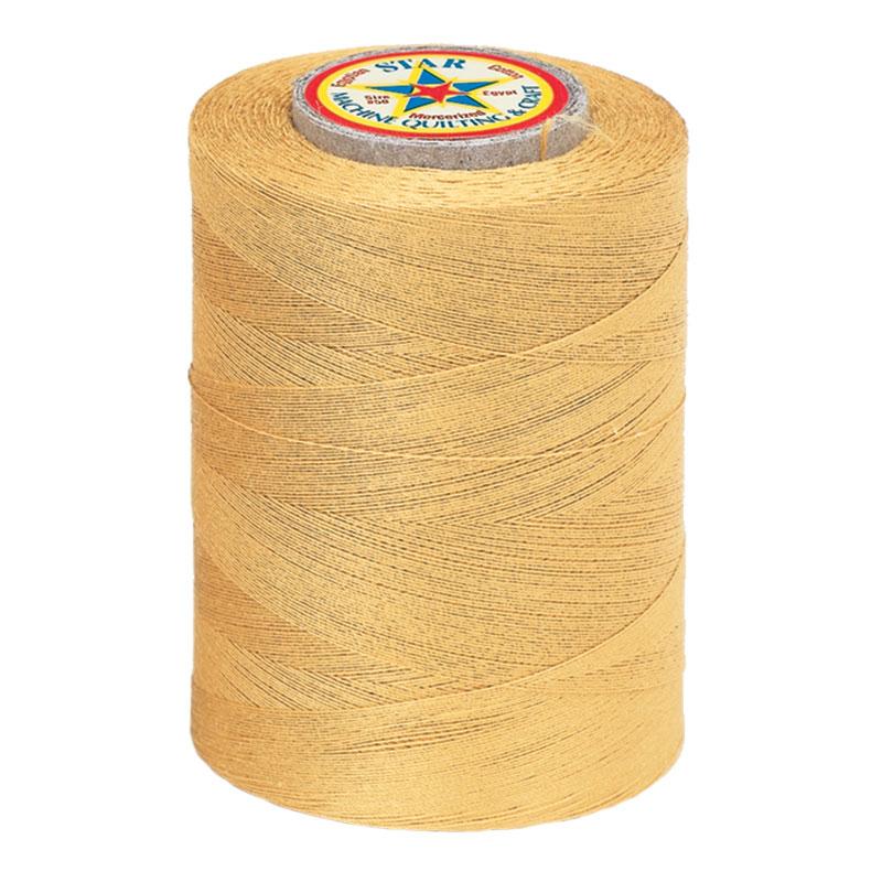 Star Mercerized Cotton Thread 1200yd #83B - Temple Gold