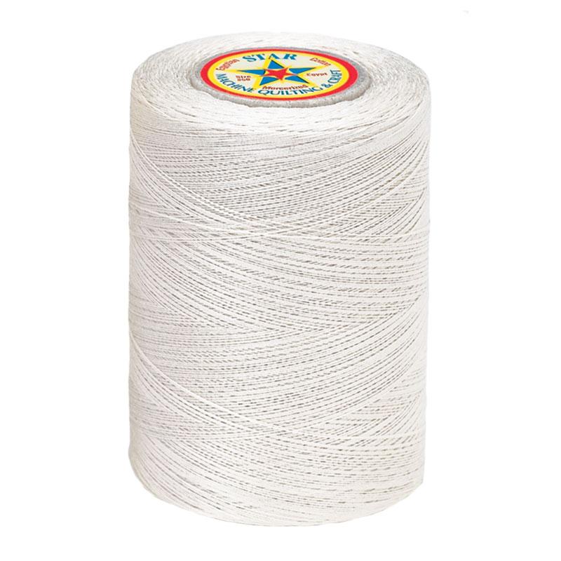 Star Cotton Thread - 1200yd 30 Wt - Natural - V37 256