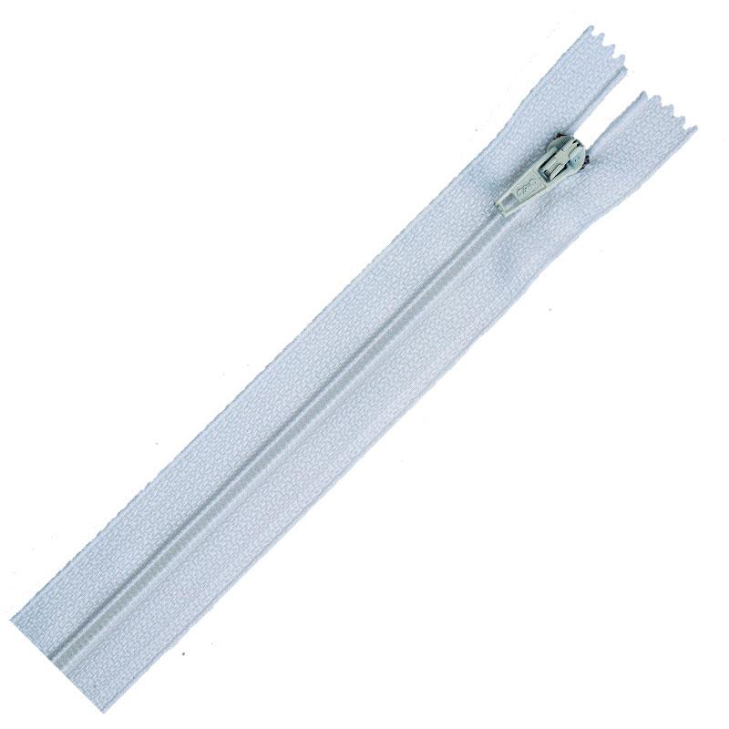 Zipper All Purpose Polyester Plastic Zipper 14 inch 1 White Coats & Clark