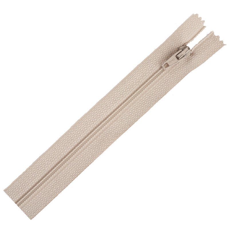 Flex Zip Poly Zipper 7 Ecru