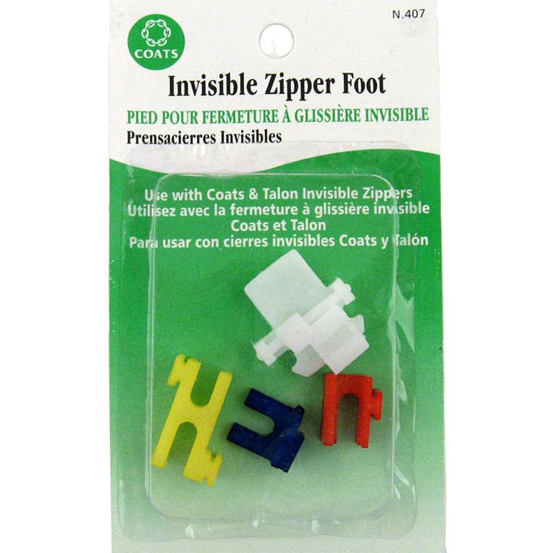 Coats Invisible Zipper Foot