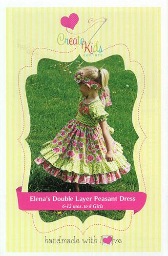 Elenas Double Layer Peasant Dr