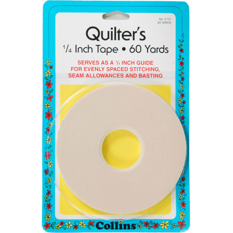 Quilters Tape 1/4 60 Yds