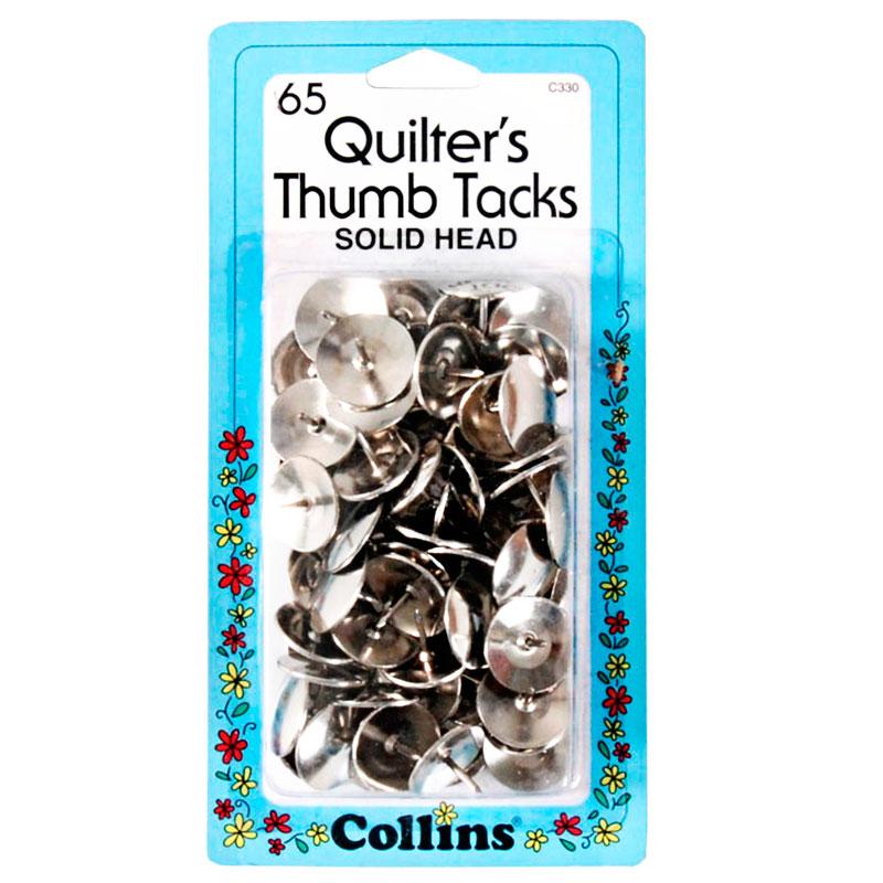 Collins Thumb Tacks - 65 pieces