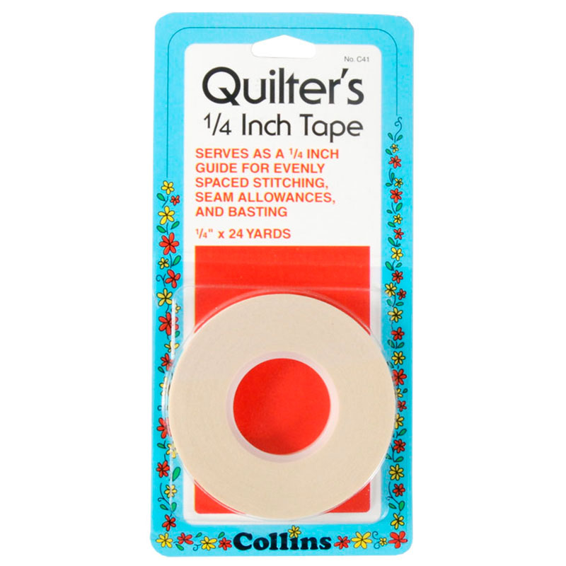 Collins Quilters Tape 1/4 30yd