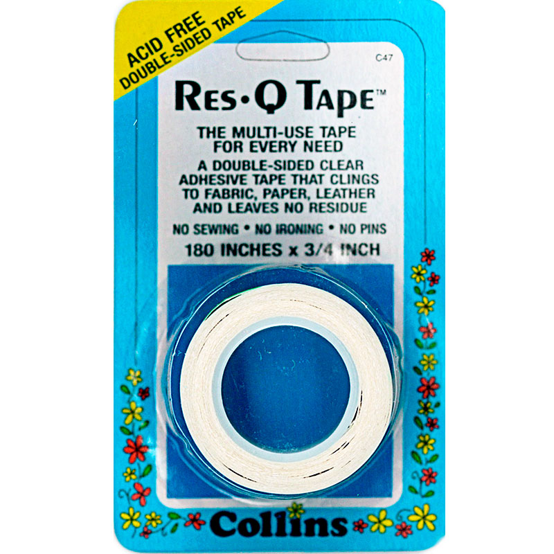 COLLINS Res Q Tape 180IN x 3/4IN