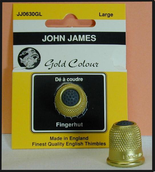 JJ Magnatop Thimble Medium Gold