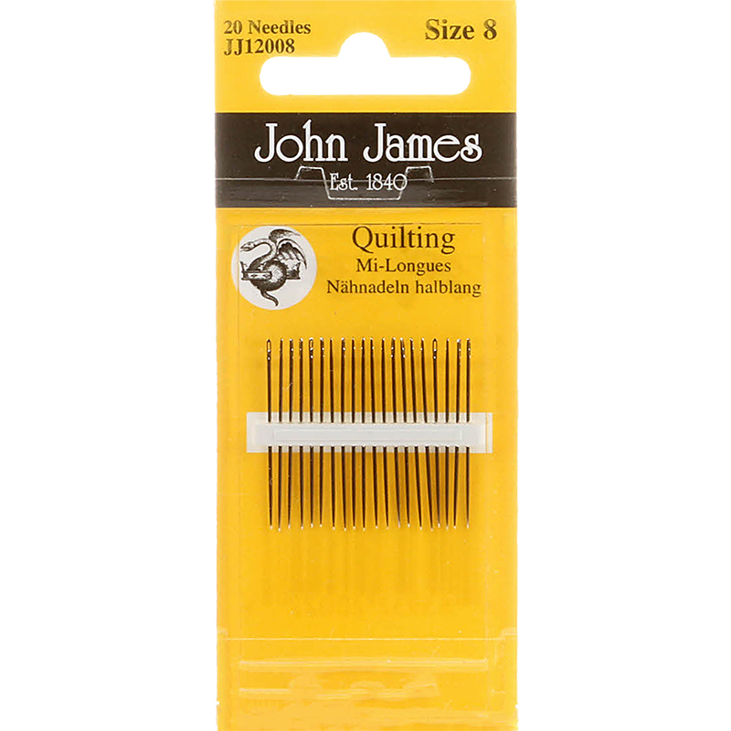Quilting Needles Size 8