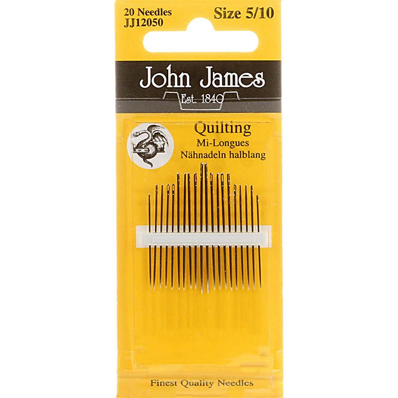 Between Hand needles SZ 5/10 John James