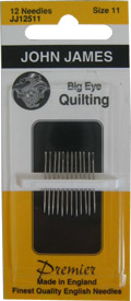 Quilting Needle w/ Emb Eye Sz11