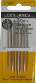 Darners yarn needle John James