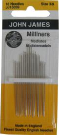 Milliners / Straws Needles Sz 3/9 JJ15039