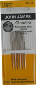 Chenille Hand Needles Sz 18