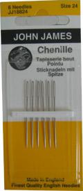 John James Chenille Needles Size 24