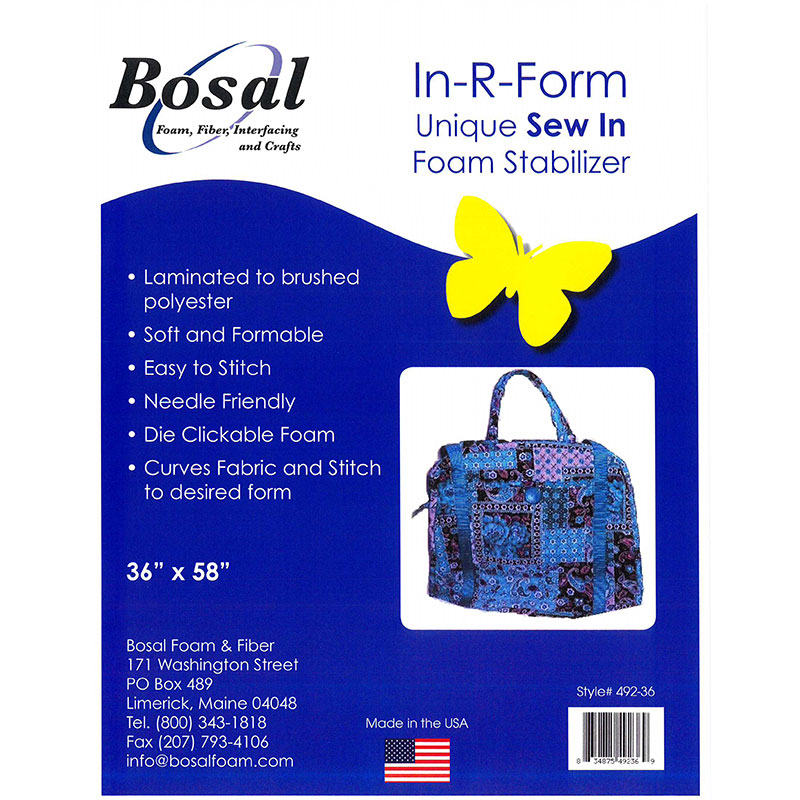 Bosal In R Form Sew In Stablizer 58