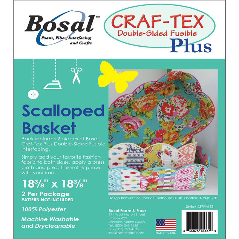 Craft Tex Plus Scallop Basket