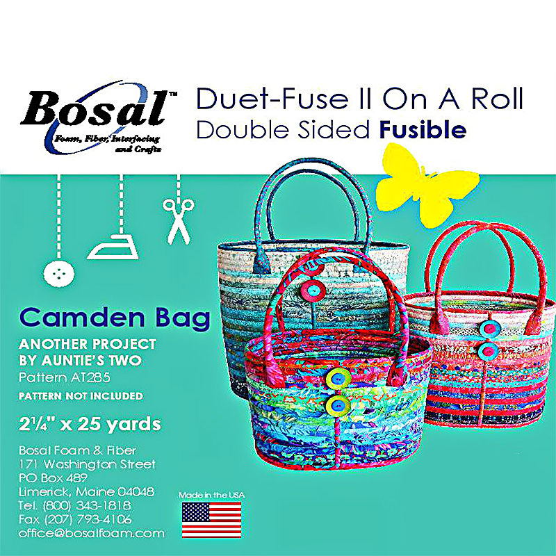 Duet Fuse 2.5 inches x 25yards Camden Bags Large `