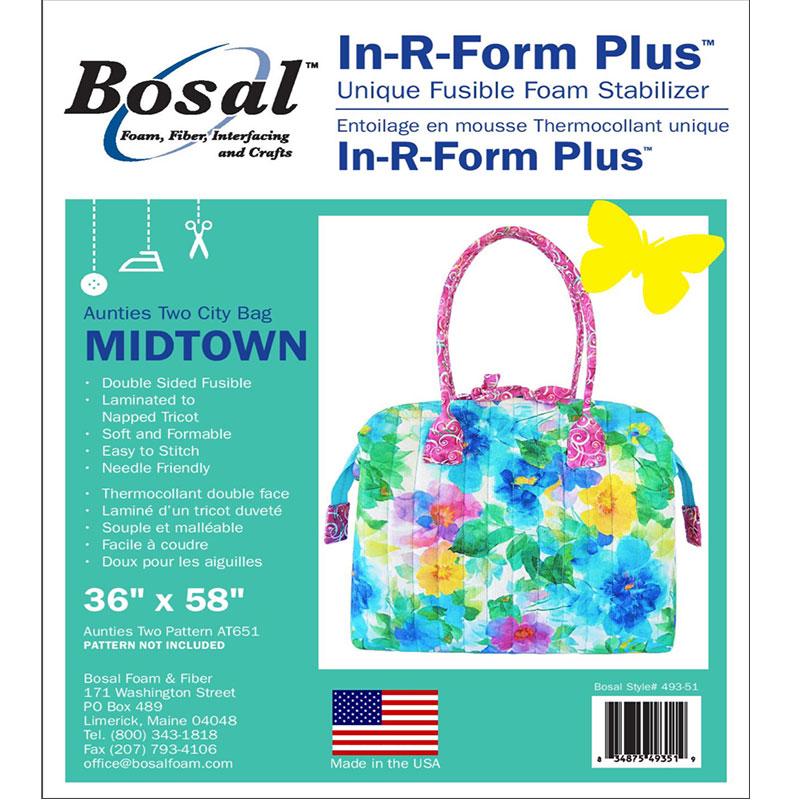 Bosal In-R-Form Plus Fusible Foam Stabilizer Midtown