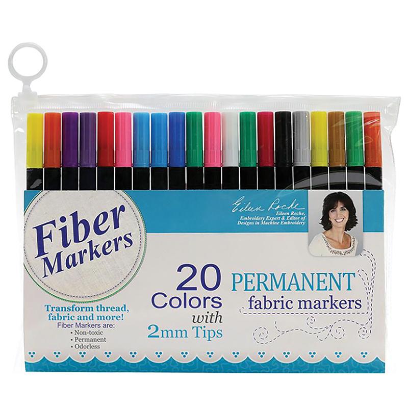 Fiber Markers 2mm 20ct