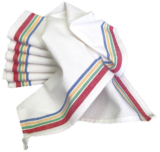 Vintage Striped Towel 3ct Multi